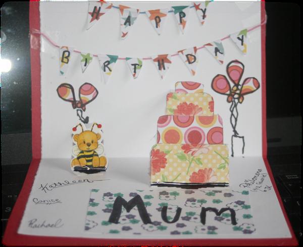 Mum's Birthday Card by Tamuril2