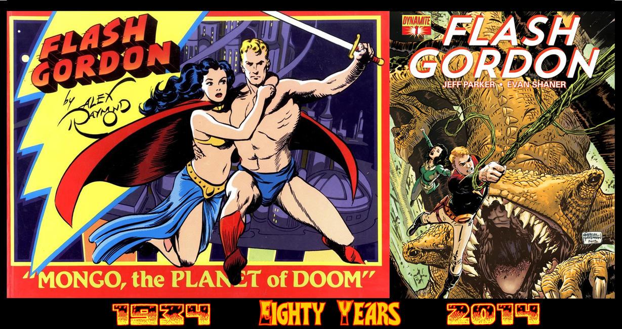 Flash Gordon at 80 by DashMcCool