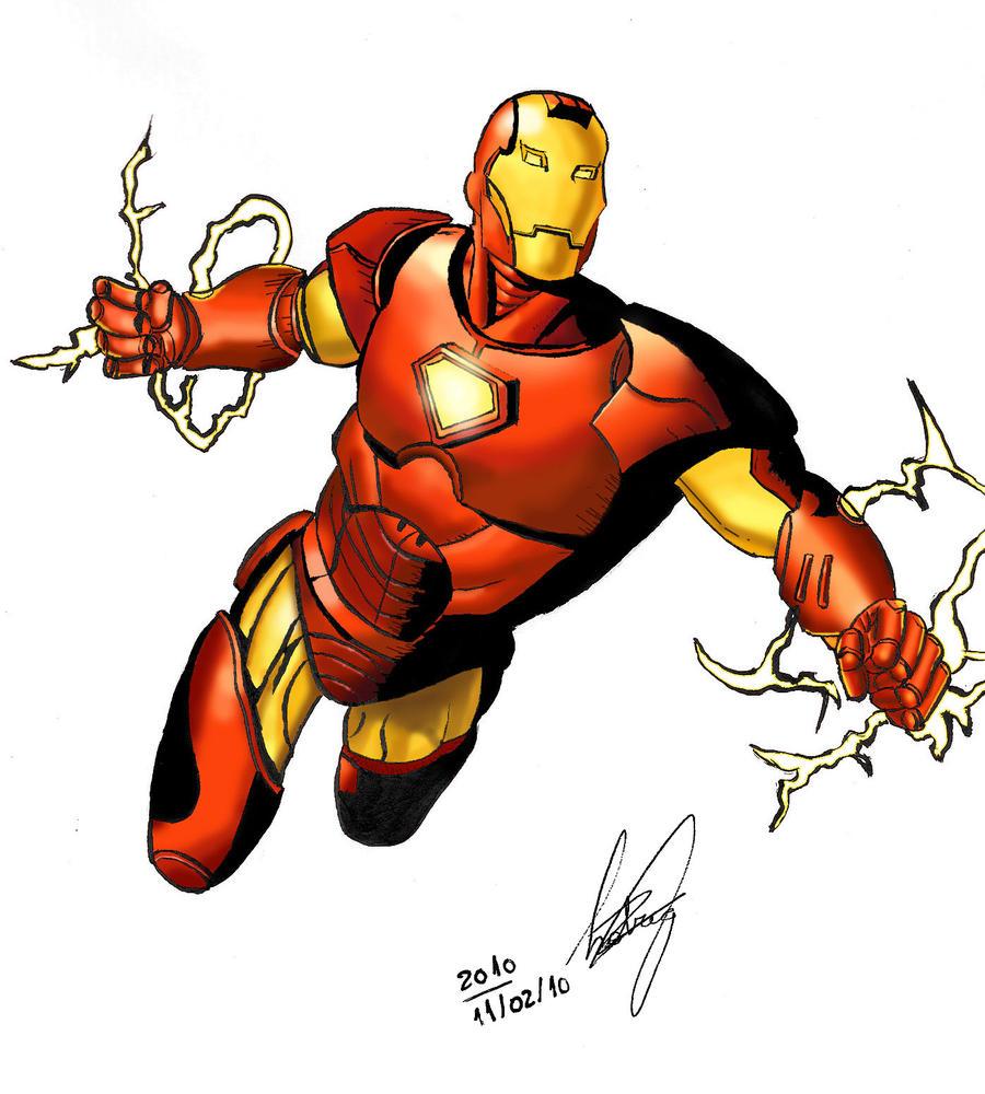 Iron Man Cartoon Drawings | www.imgkid.com - The Image Kid ...