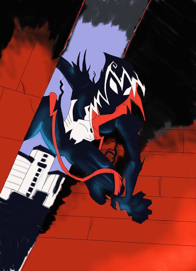Venom SpiderGwen by AnarchyHamster