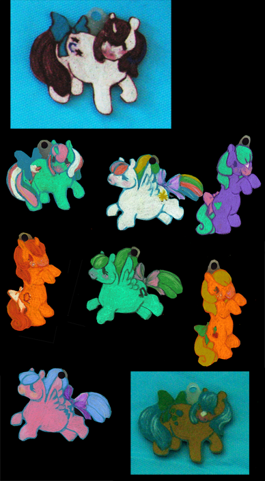 pony charms by whinges