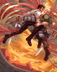 Reiner and Bertolt by whinges