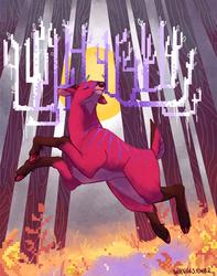 Pixel Deer 2016 by whinges