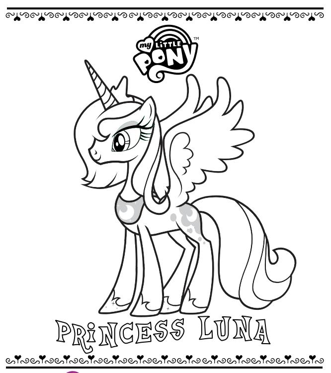 Princess Luna Coloring Page by SkylarCandyVanity on DeviantArt