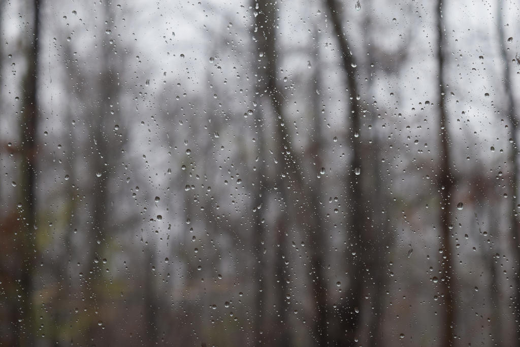 Stock: Raindrops on a Window by LissaMonster