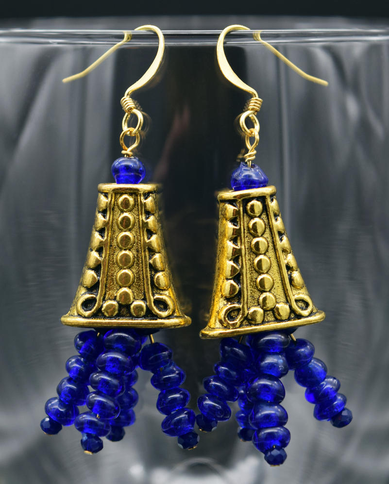 Earrings: Sparta by LissaMonster
