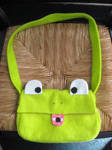 froggy purse by gurliebot