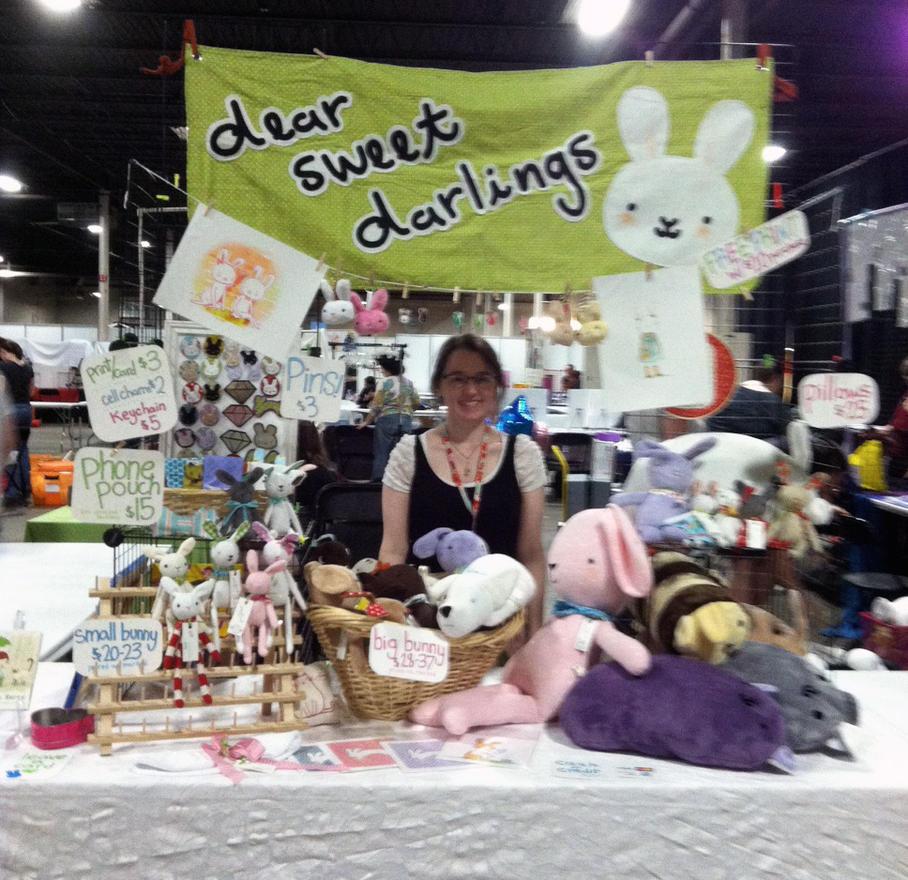 Artist Alley set up AnimeNext by gurliebot