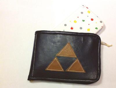 Triforce 3ds xl case by gurliebot