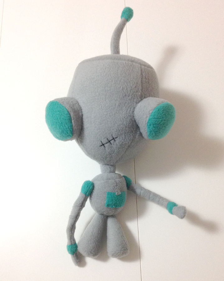 GIR plushie by gurliebot