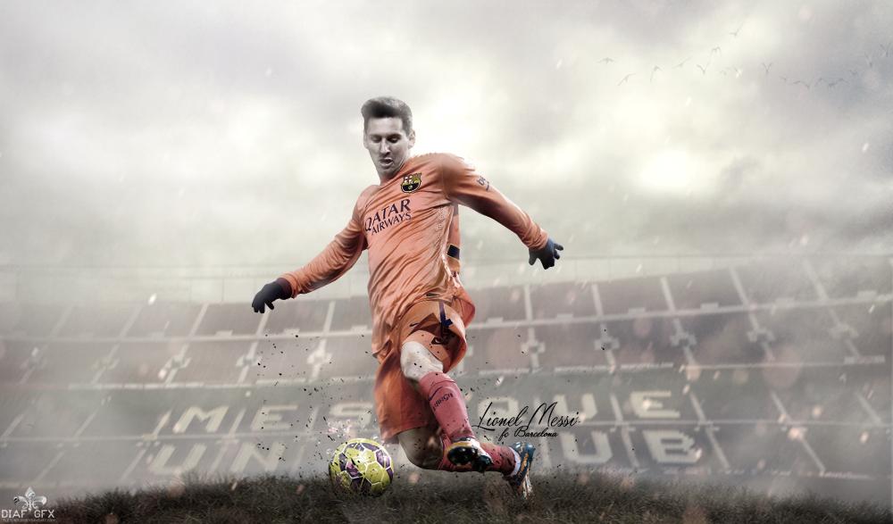 Lionel Messi (Fc Barcelona) Wallpaper By FLETCHER39 On