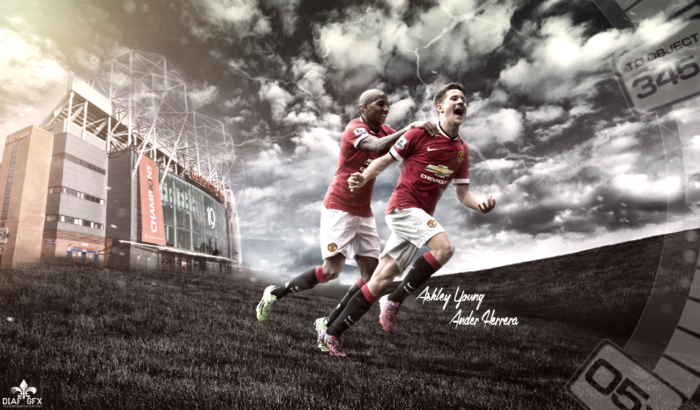 Ander Herrera Wallpaper: Ashley Young N Ander Herrera Wallpaper By FLETCHER39 On