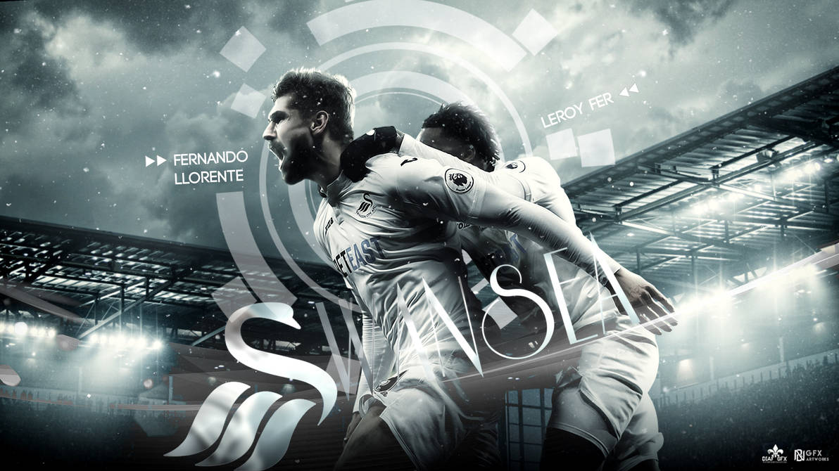 Fernando Llorente Wallpaper -Swansea City Fc By FLETCHER39