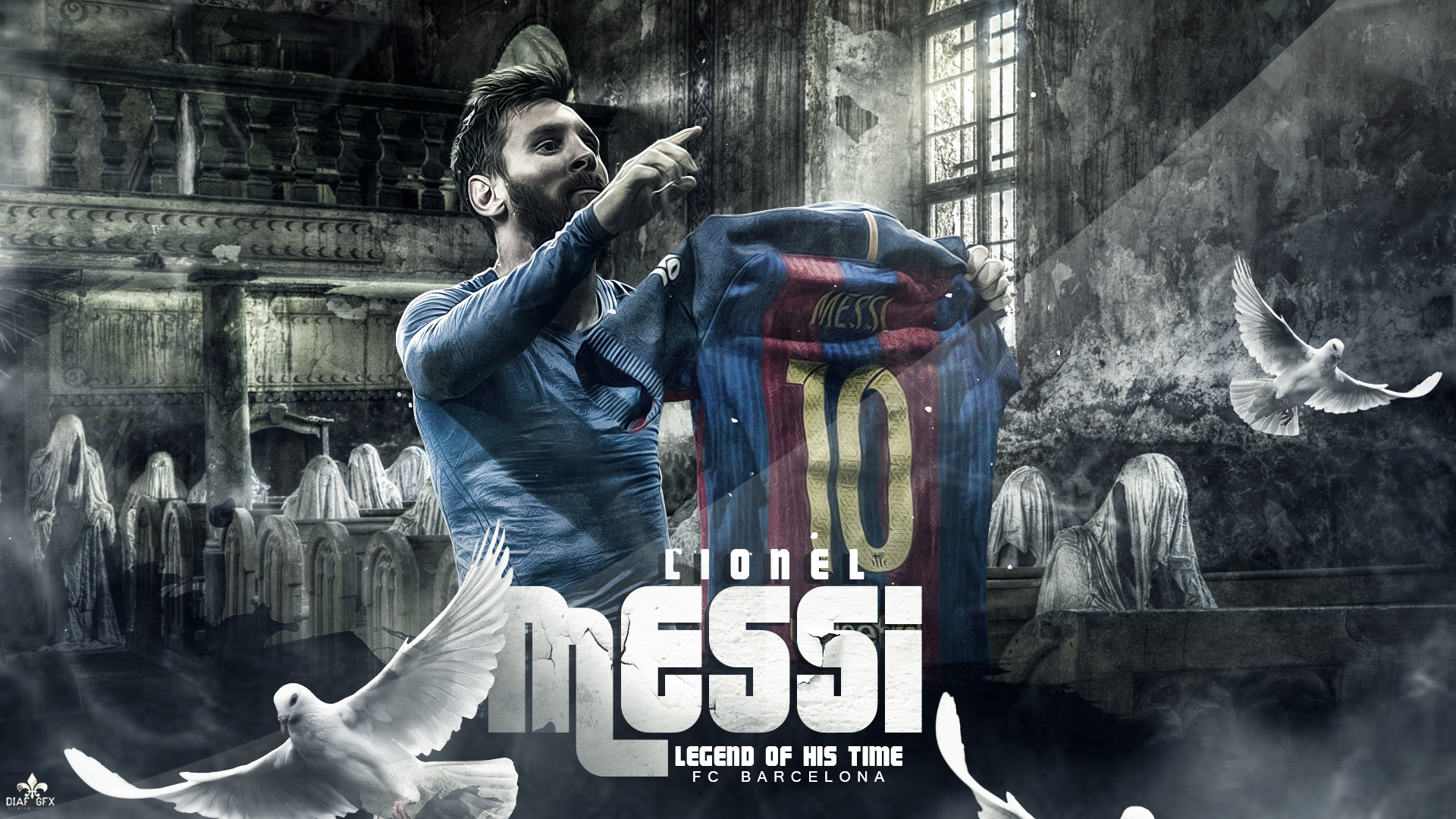 Lionel Messi Wallpaper By FLETCHER39