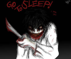 Jeff Dares you to Sleep... by JB-SuperPants