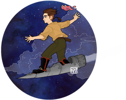 Treasure Planet by Mymie-chan