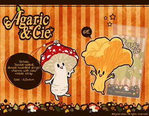 Agaric and Cie straps