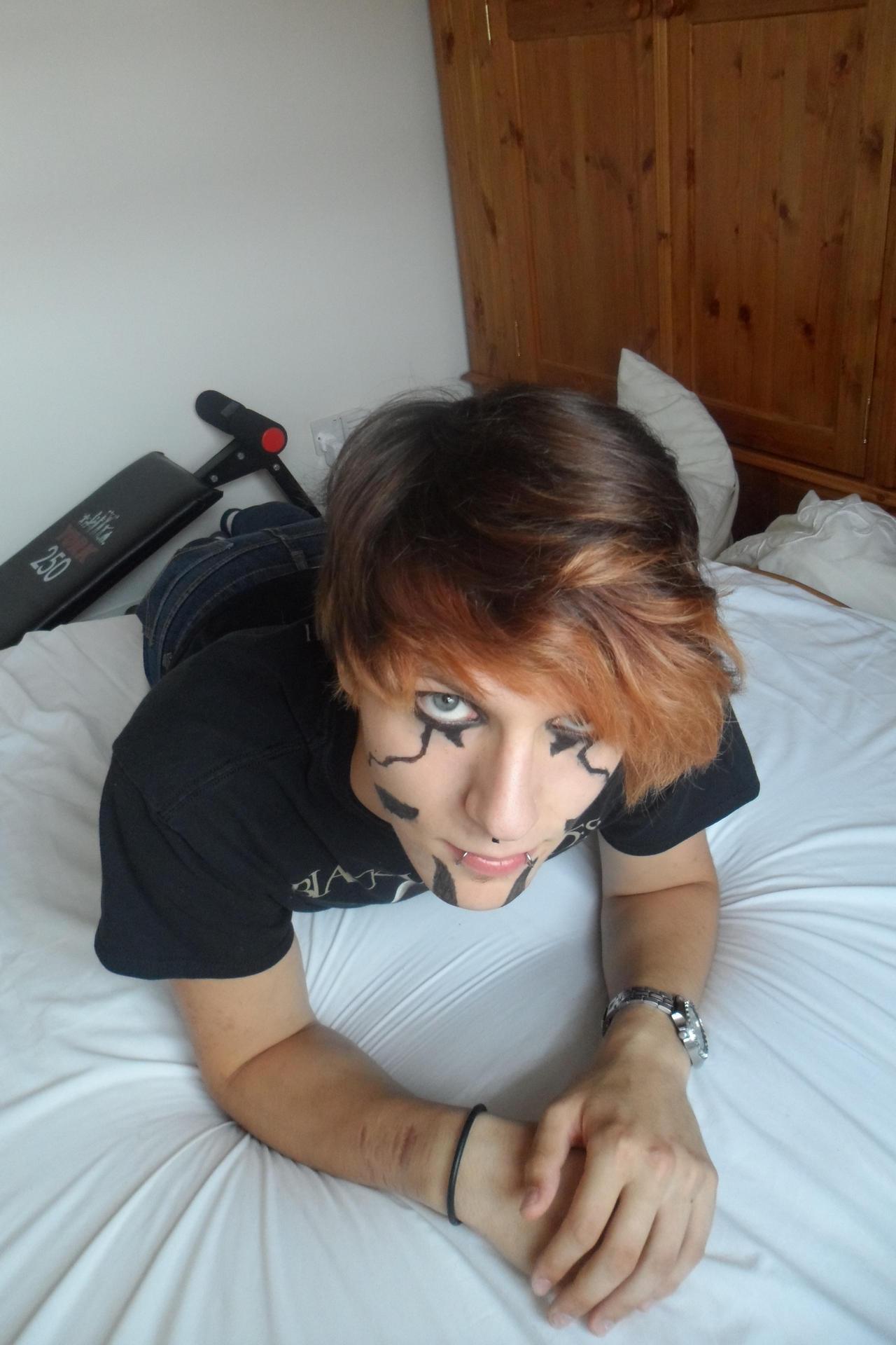 Demon Face Paint by Crimson666Fox