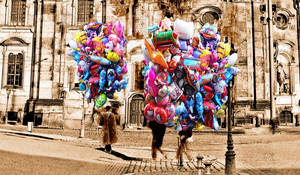 Dresden Balloons / Dresden Luftballonen