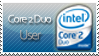 Intel Core 2 Duo Stamp by angelslain
