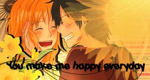 You make me happy everyday .:luna:. by Smile-smiley