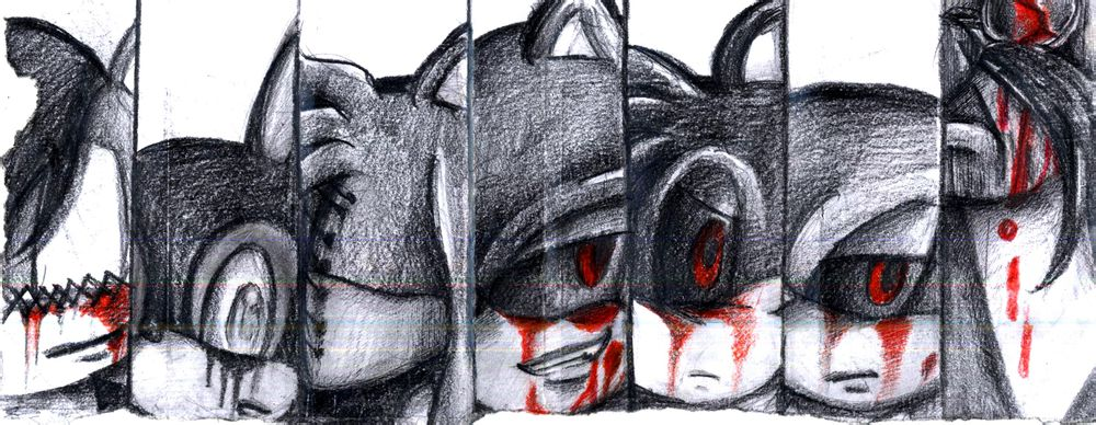 Sonic  EXE Cast by Specter1997 on DeviantArt