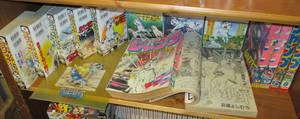 WEED Specials, plastic folder and Shounen Jumps