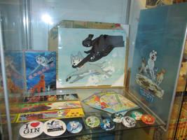 Gin cel, Comics News, blue GDW plastic folder by methpring