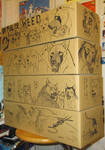 GDW cardboard boxes illustrated by Takahashi