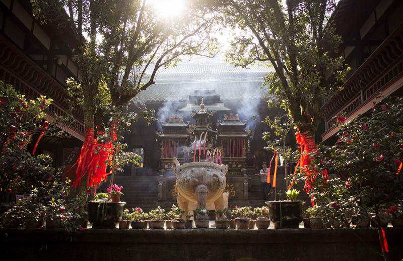Temple by clalepa