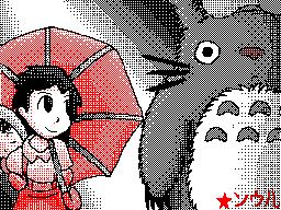 Tonari No Totoro - Kasa by SkyHighFae