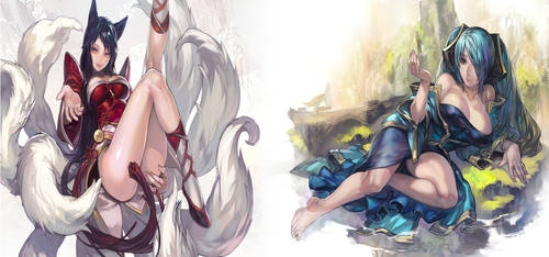 Sona + Ahri = awesome !