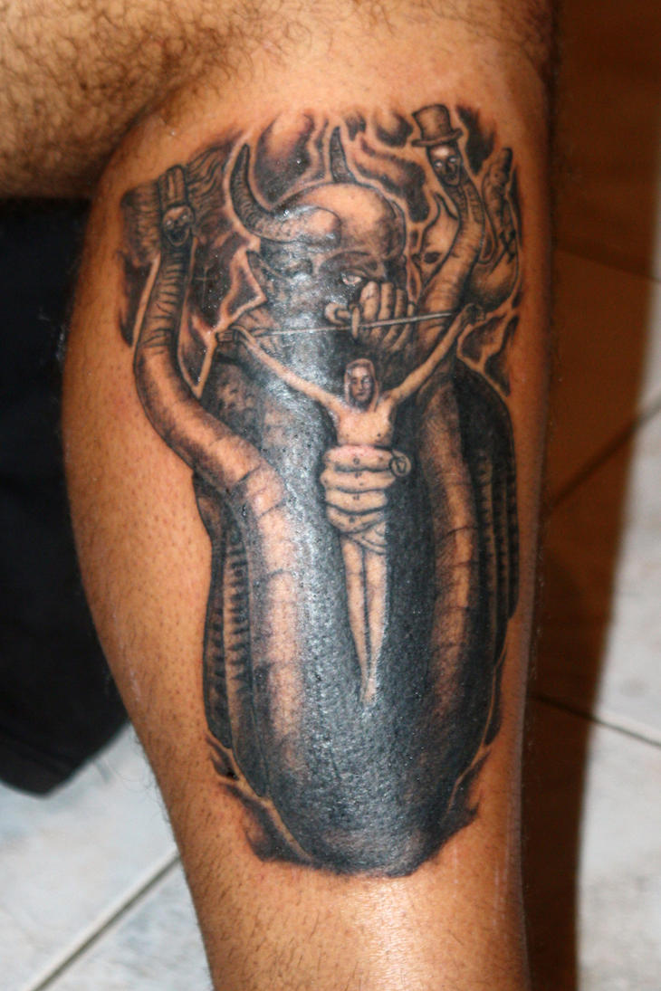 Celtic frost tattoo by z3r0graf1x on deviantart for Fire and ice tattoo shop