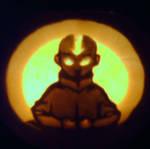 Avatar the Last Aang Pumpkin