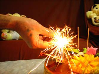 3dots hand firework
