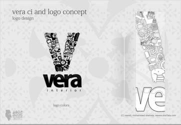 Vera Interior Logo Concept by she7ata