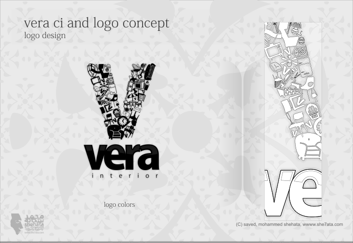 Vera Interior Logo Concept by she7ata
