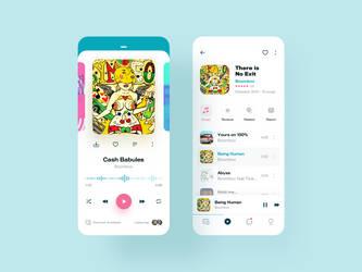 Player App - UI Concept