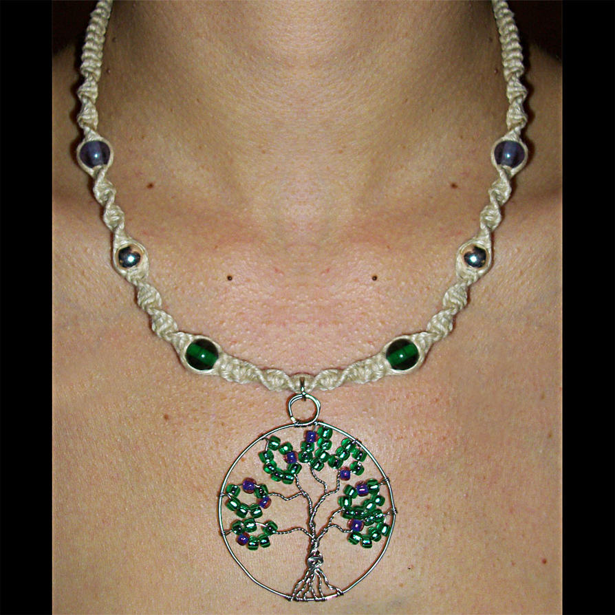 How To Make Hemp Necklaces: Wire Tree Life Hemp Necklace By Psy-Sub On DeviantArt