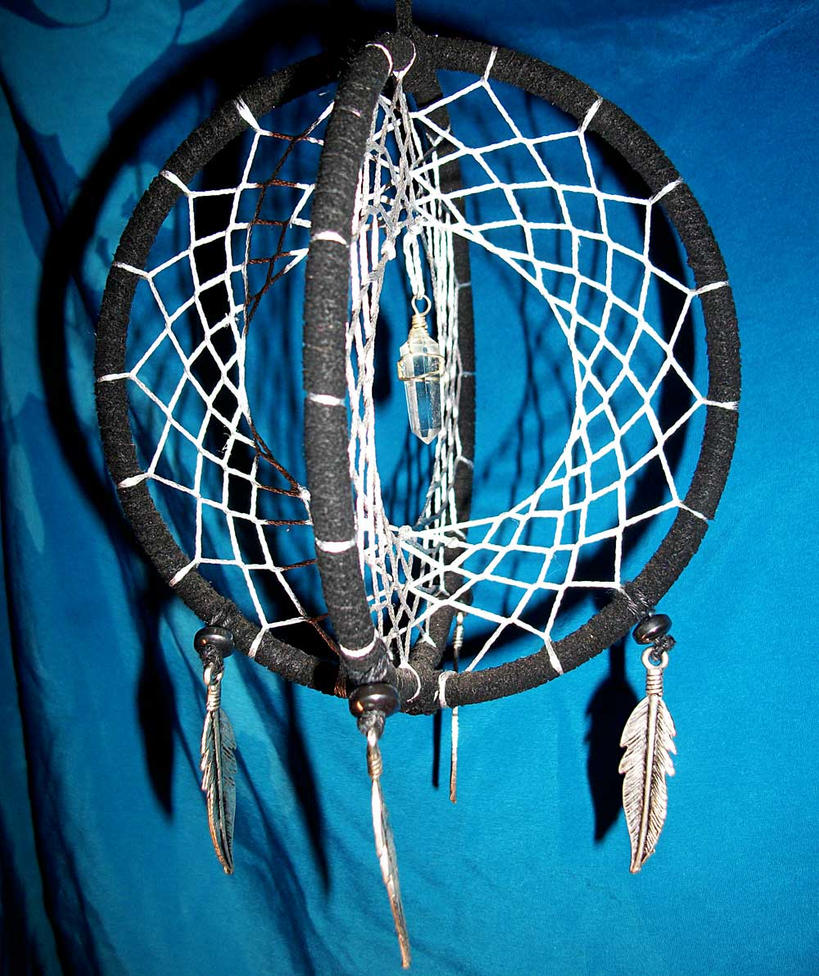 1000 images about dreamcatchers on pinterest pink trees for How to make a double ring dreamcatcher