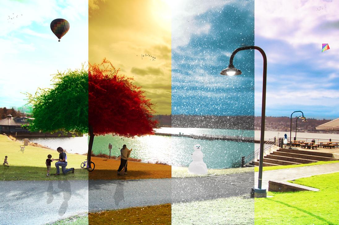 Four Seasons by wazzy88