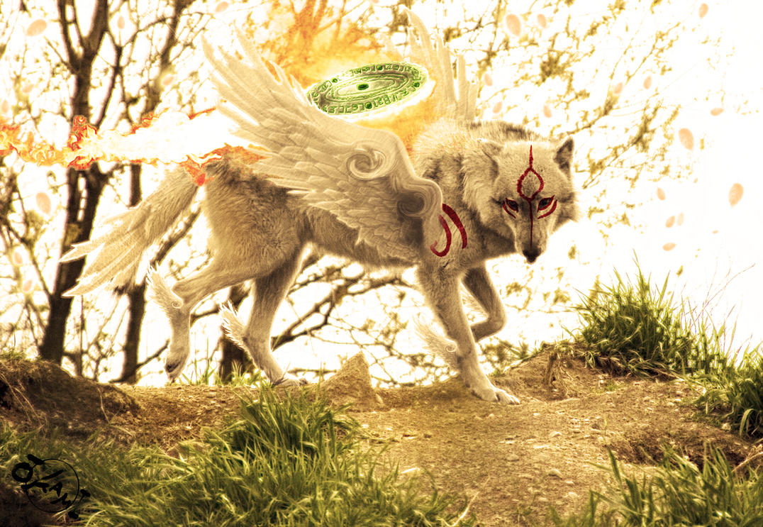 Okami - The Great Spirit 4 by wazzy88
