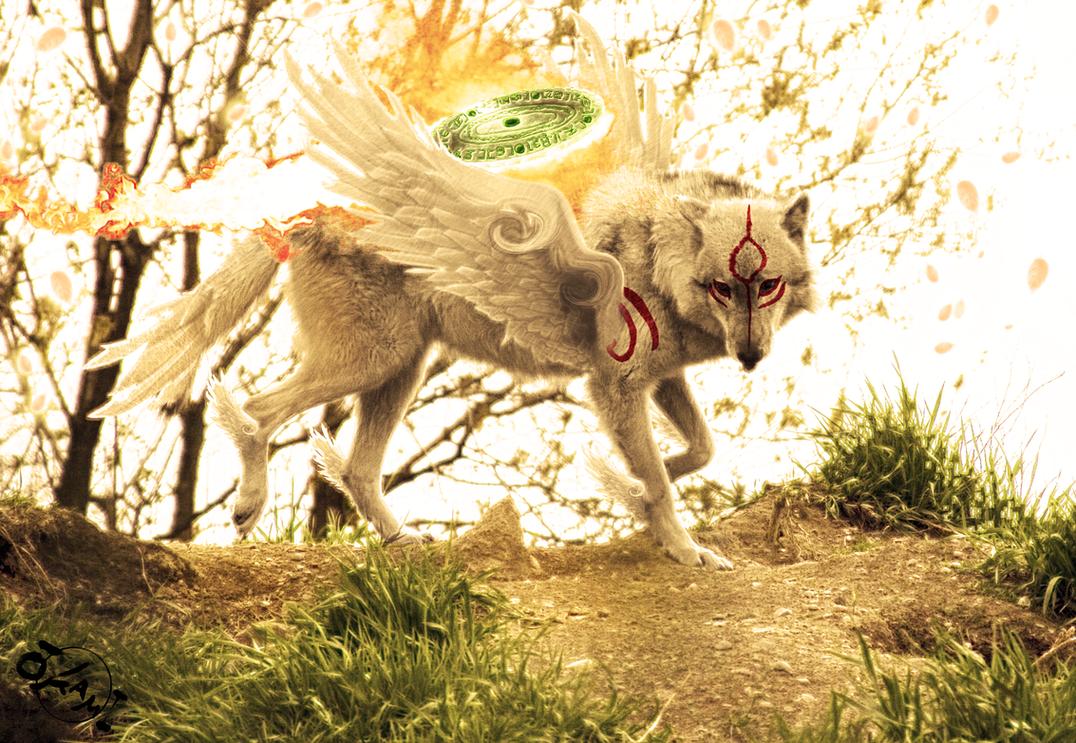 Okami - The Great Spirit 4 by wazzy88