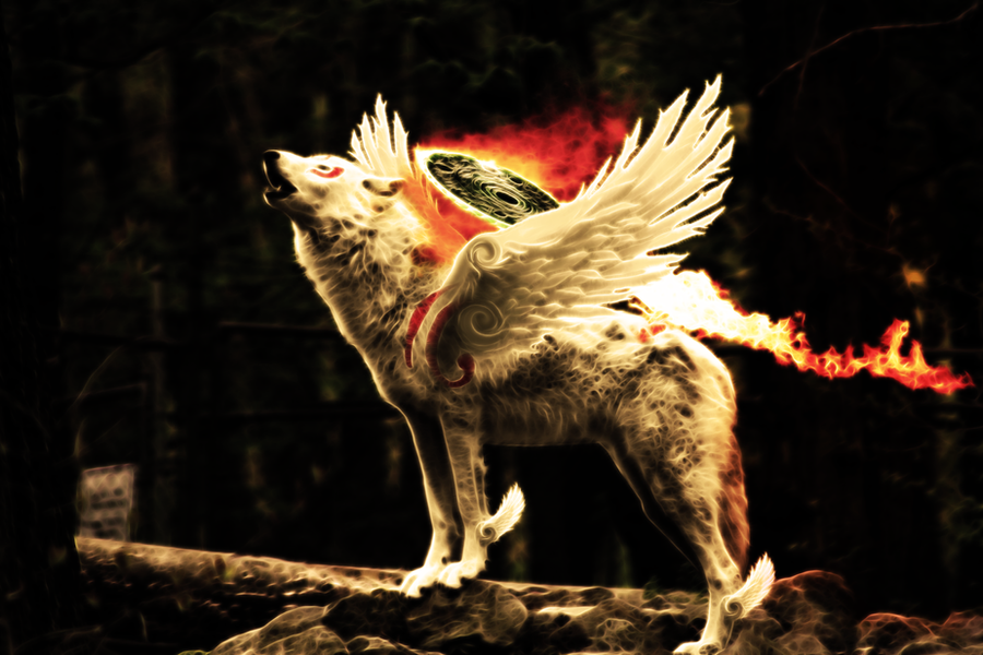 Okami - The Great Spirit 5 by wazzy88