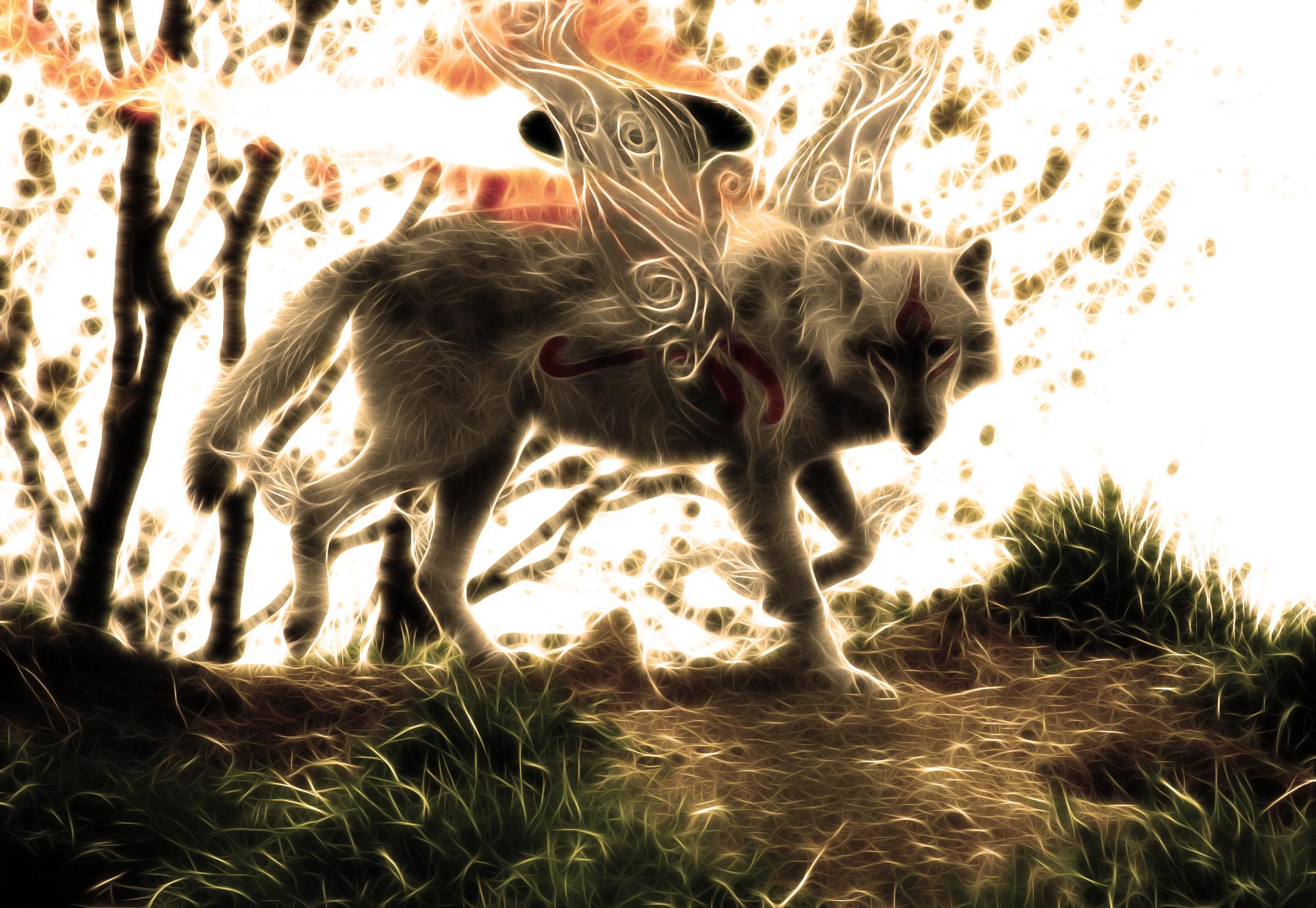 Okami - The Great Spirit 7 by wazzy88