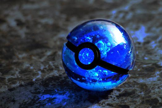 Watertype Pokeball
