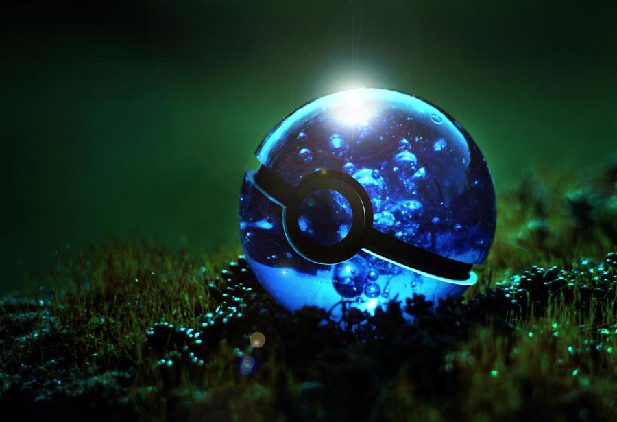 Watertype Pokeball 2 by wazzy88