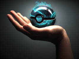 The Pokeball of MewTwo by wazzy88