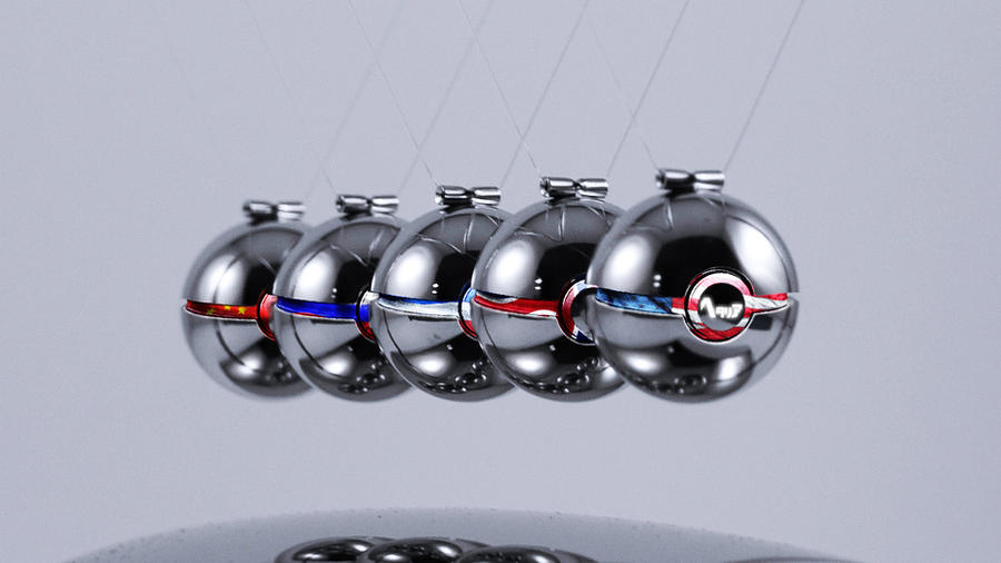 The Pokeballs of Hetalia: Allied Powers by wazzy88