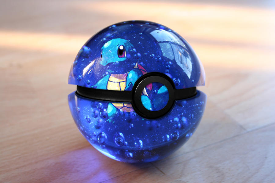 The Pokeball of Squirtle